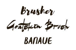fonts, brusher, goatskin, banuae